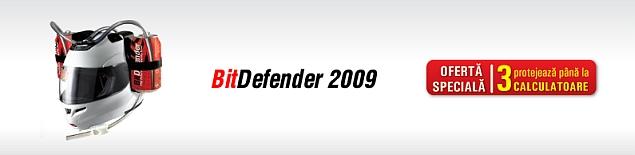 bitdefender 2009 licenta 3 calculatoare