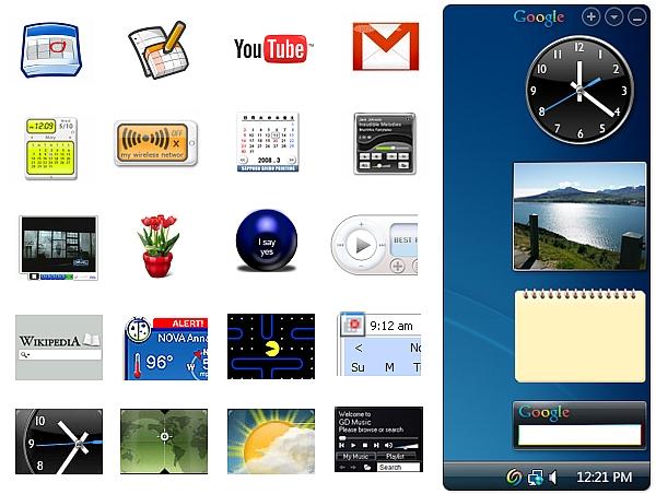 google desktop sidebar free